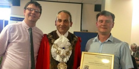 Information Solutions Win Gold at Mayor Awards