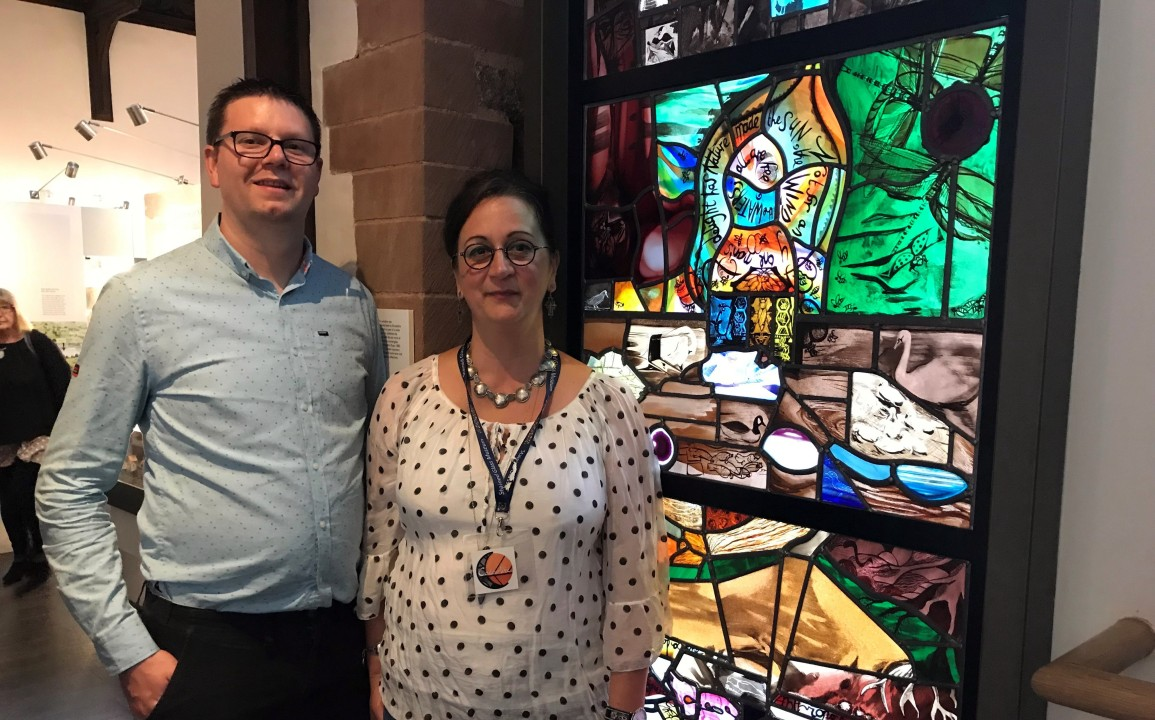 Stained glass project to be unveiled at Shrewsbury Museum
