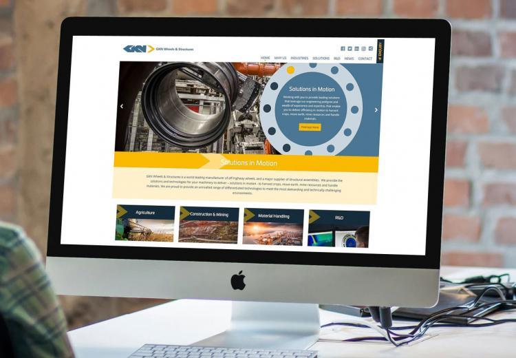 New Website for GKN