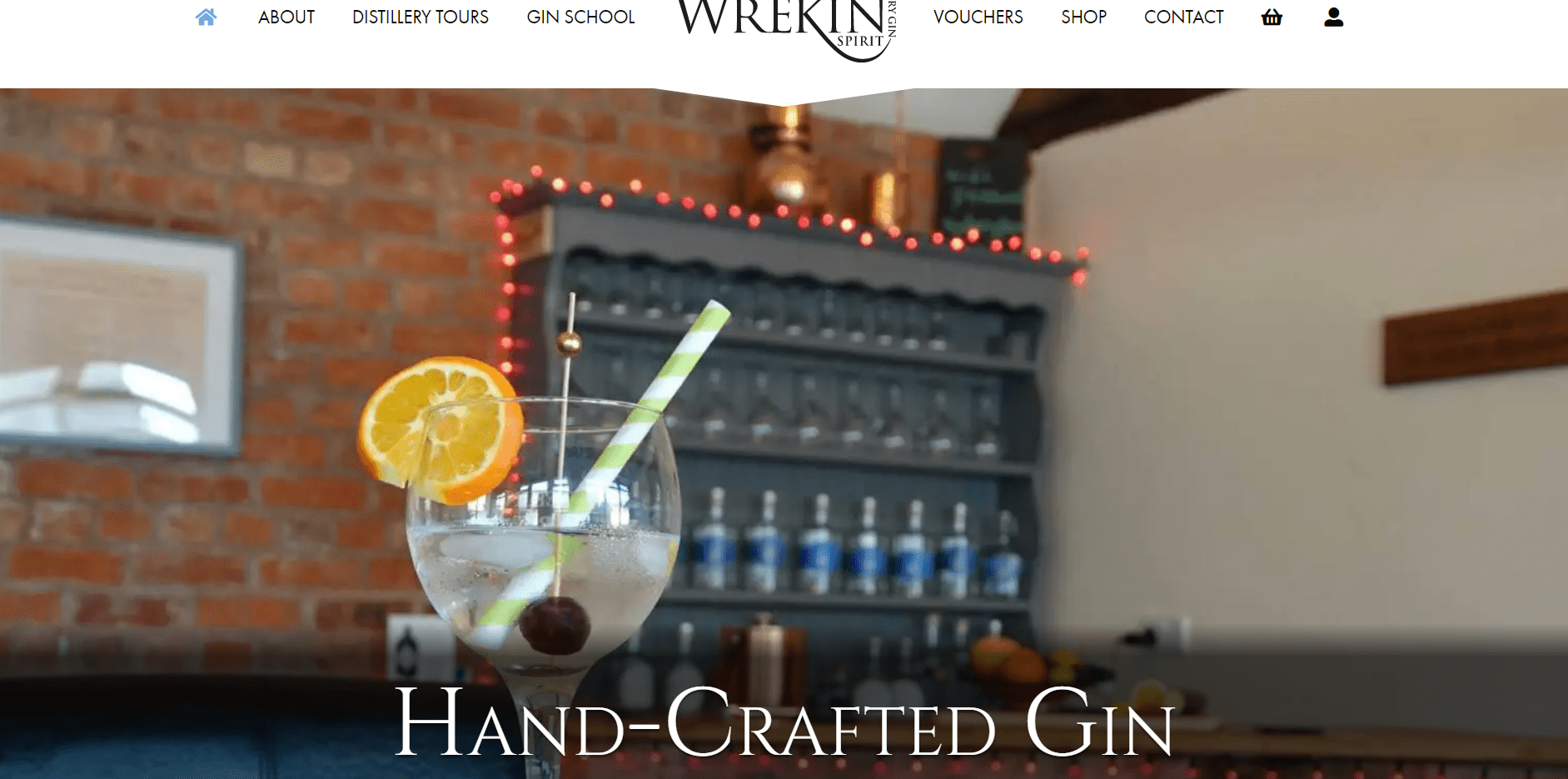 Wrekin Spirit, a Shropshire based Gin distillery, launch exciting new website to sell their new hand-crafted gin and distillery tours